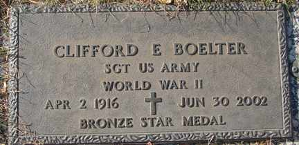 BOELTER, CLIFFORD E. (WWII) - Minnehaha County, South Dakota | CLIFFORD E. (WWII) BOELTER - South Dakota Gravestone Photos