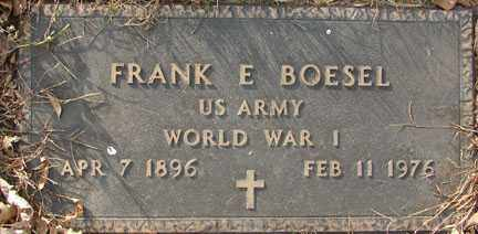 BOESEL, FRANK E. - Minnehaha County, South Dakota | FRANK E. BOESEL - South Dakota Gravestone Photos