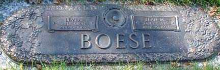 BOESE, LEVI ANTHON - Minnehaha County, South Dakota | LEVI ANTHON BOESE - South Dakota Gravestone Photos