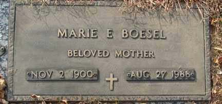 BOESEL, MARIE E. - Minnehaha County, South Dakota | MARIE E. BOESEL - South Dakota Gravestone Photos