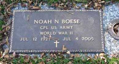 BOESE, NOAH N. - Minnehaha County, South Dakota | NOAH N. BOESE - South Dakota Gravestone Photos