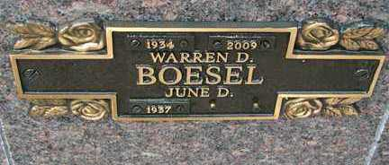 BOESEL, JUNE D. - Minnehaha County, South Dakota | JUNE D. BOESEL - South Dakota Gravestone Photos