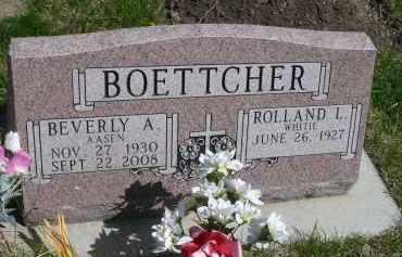 AASEN BOETTCHER, BEVERLY A. - Minnehaha County, South Dakota | BEVERLY A. AASEN BOETTCHER - South Dakota Gravestone Photos