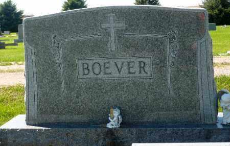BOEVER, FAMILY MARKER - Minnehaha County, South Dakota   FAMILY MARKER BOEVER - South Dakota Gravestone Photos