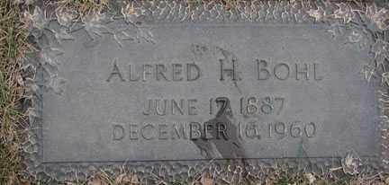 BOHL, ALFRED H. - Minnehaha County, South Dakota | ALFRED H. BOHL - South Dakota Gravestone Photos