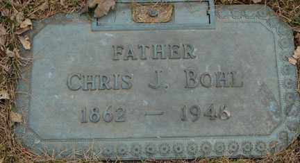 BOHL, CHRIS J. - Minnehaha County, South Dakota | CHRIS J. BOHL - South Dakota Gravestone Photos