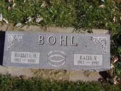 BOHL, RUSSELL H. - Minnehaha County, South Dakota | RUSSELL H. BOHL - South Dakota Gravestone Photos