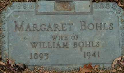 BOHLS, MARGARET - Minnehaha County, South Dakota | MARGARET BOHLS - South Dakota Gravestone Photos