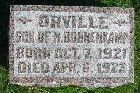 BOHNENKAMP, ORVILLE - Minnehaha County, South Dakota | ORVILLE BOHNENKAMP - South Dakota Gravestone Photos