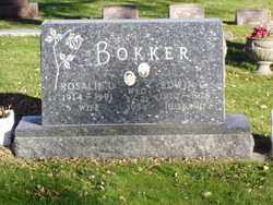 BOKKER, ROSALIE L. - Minnehaha County, South Dakota | ROSALIE L. BOKKER - South Dakota Gravestone Photos