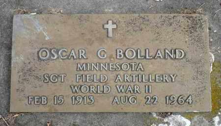 BOLLAND, OSCAR G. - Minnehaha County, South Dakota | OSCAR G. BOLLAND - South Dakota Gravestone Photos