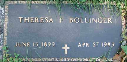 BOLLINGER, THERESA F. - Minnehaha County, South Dakota | THERESA F. BOLLINGER - South Dakota Gravestone Photos