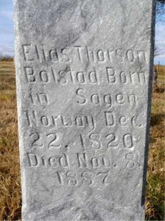BOLSTAD, ELIAS THORSON - Minnehaha County, South Dakota | ELIAS THORSON BOLSTAD - South Dakota Gravestone Photos