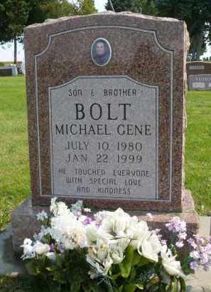 BOLT, MICHAEL GENE - Minnehaha County, South Dakota | MICHAEL GENE BOLT - South Dakota Gravestone Photos