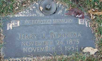 BONNEMA, JERRY J. - Minnehaha County, South Dakota | JERRY J. BONNEMA - South Dakota Gravestone Photos