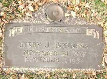BONNEMA, JERRY J. - Minnehaha County, South Dakota | JERRY J. BONNEMA - South Dakota Gravestone Photos