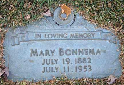 BONNEMA, MARY - Minnehaha County, South Dakota | MARY BONNEMA - South Dakota Gravestone Photos