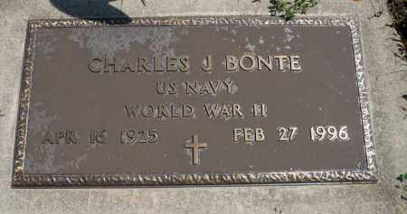 BONTE, CHARLES J. (WWII) - Minnehaha County, South Dakota | CHARLES J. (WWII) BONTE - South Dakota Gravestone Photos