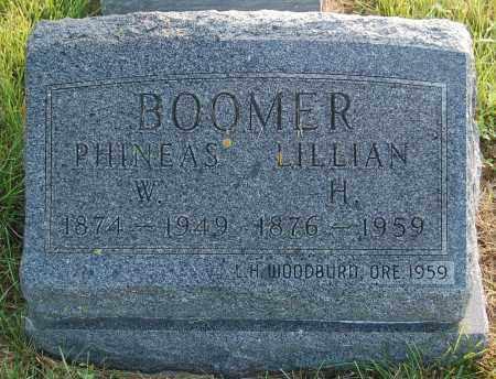 BOOMER, PHINEAS W. - Minnehaha County, South Dakota | PHINEAS W. BOOMER - South Dakota Gravestone Photos