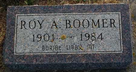 BOOMER, ROY A. - Minnehaha County, South Dakota | ROY A. BOOMER - South Dakota Gravestone Photos