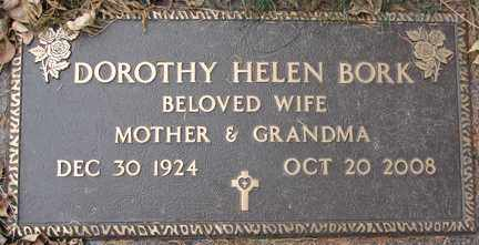 BORK, DOROTHY HELEN - Minnehaha County, South Dakota | DOROTHY HELEN BORK - South Dakota Gravestone Photos