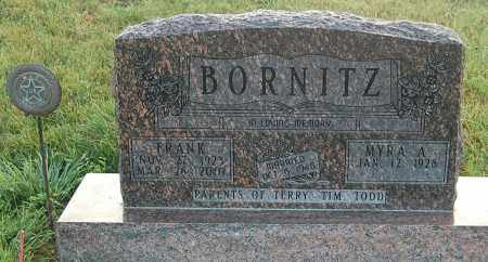 BORNITZ, MYRA A. - Minnehaha County, South Dakota | MYRA A. BORNITZ - South Dakota Gravestone Photos