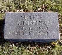 BORSTAD, CHRISTINA - Minnehaha County, South Dakota | CHRISTINA BORSTAD - South Dakota Gravestone Photos
