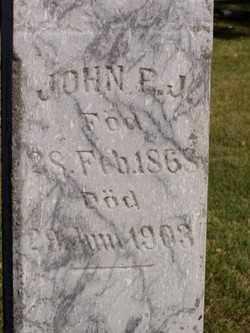 BORSTAD, JOHN P.J. - Minnehaha County, South Dakota | JOHN P.J. BORSTAD - South Dakota Gravestone Photos