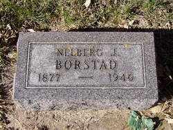 BORSTAD, NELBERG J. - Minnehaha County, South Dakota | NELBERG J. BORSTAD - South Dakota Gravestone Photos
