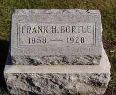 BORTLE, FRANK H. - Minnehaha County, South Dakota | FRANK H. BORTLE - South Dakota Gravestone Photos