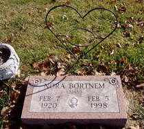 BORTNEM, NORA - Minnehaha County, South Dakota | NORA BORTNEM - South Dakota Gravestone Photos