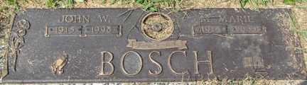 BOSCH, M. MARIE - Minnehaha County, South Dakota | M. MARIE BOSCH - South Dakota Gravestone Photos
