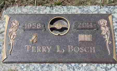 BOSCH, TERRY L. - Minnehaha County, South Dakota | TERRY L. BOSCH - South Dakota Gravestone Photos