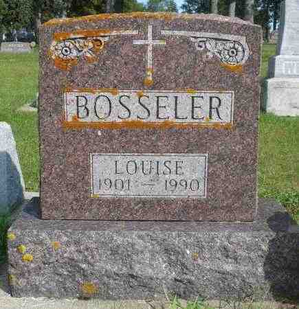 BOSSELER, LOUISE - Minnehaha County, South Dakota | LOUISE BOSSELER - South Dakota Gravestone Photos