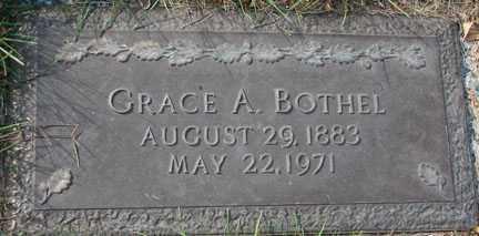 BOTHEL, GRACE A. - Minnehaha County, South Dakota   GRACE A. BOTHEL - South Dakota Gravestone Photos