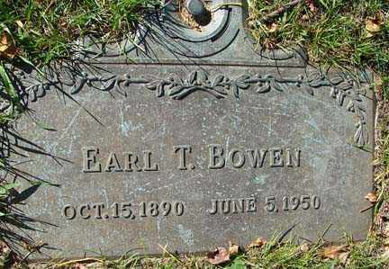 BOWEN, EARL T. - Minnehaha County, South Dakota | EARL T. BOWEN - South Dakota Gravestone Photos