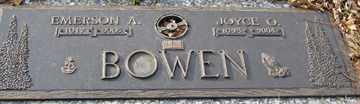 BOWEN, EMERSON A. - Minnehaha County, South Dakota | EMERSON A. BOWEN - South Dakota Gravestone Photos