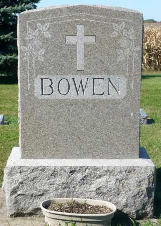 BOWEN, FAMILY MARKER - Minnehaha County, South Dakota | FAMILY MARKER BOWEN - South Dakota Gravestone Photos