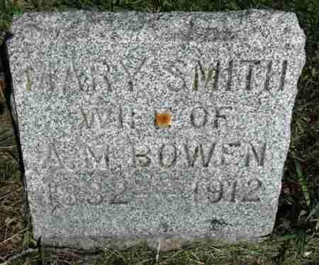SMITH BOWEN, MARY AMELIA - Minnehaha County, South Dakota | MARY AMELIA SMITH BOWEN - South Dakota Gravestone Photos