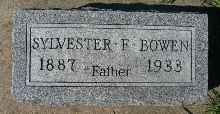 BOWEN, SYLVESTER F. - Minnehaha County, South Dakota | SYLVESTER F. BOWEN - South Dakota Gravestone Photos