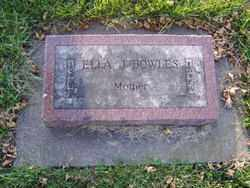 BOWLES, ELLA J. - Minnehaha County, South Dakota | ELLA J. BOWLES - South Dakota Gravestone Photos