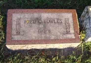 BOWLES, FRED C. - Minnehaha County, South Dakota | FRED C. BOWLES - South Dakota Gravestone Photos
