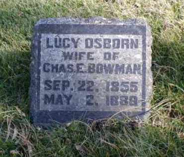 BOWMAN, LUCY - Minnehaha County, South Dakota | LUCY BOWMAN - South Dakota Gravestone Photos