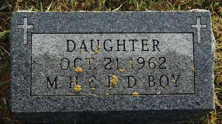 BOY, DAUGHTER - Minnehaha County, South Dakota | DAUGHTER BOY - South Dakota Gravestone Photos