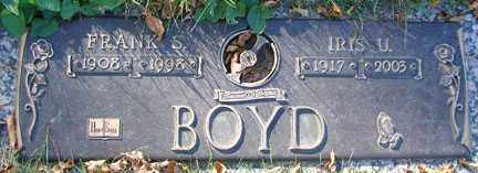 BOYD, FRANK S. - Minnehaha County, South Dakota | FRANK S. BOYD - South Dakota Gravestone Photos