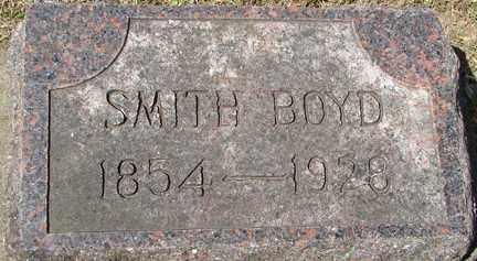 BOYD, SMITH - Minnehaha County, South Dakota   SMITH BOYD - South Dakota Gravestone Photos