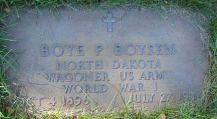BOYSEN, BOYE P. - Minnehaha County, South Dakota | BOYE P. BOYSEN - South Dakota Gravestone Photos