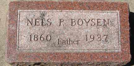 BOYSEN, NELS P. - Minnehaha County, South Dakota | NELS P. BOYSEN - South Dakota Gravestone Photos