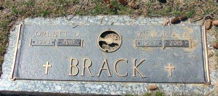 BRACK, ORLETT O. - Minnehaha County, South Dakota | ORLETT O. BRACK - South Dakota Gravestone Photos