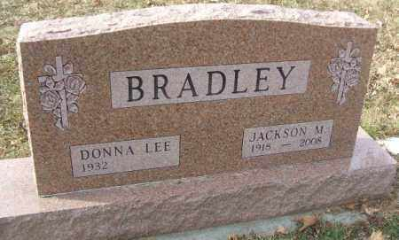 BRADLEY, JACKSON M. - Minnehaha County, South Dakota | JACKSON M. BRADLEY - South Dakota Gravestone Photos